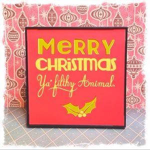 Home Alone Christmas Decor